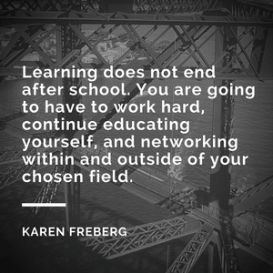 Professional Development Q&A with Karen Freberg