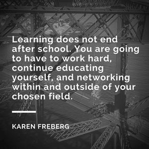 Professional Development Q&A with Karen Freberg