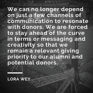 Professional Development Q&A With Lora Wey